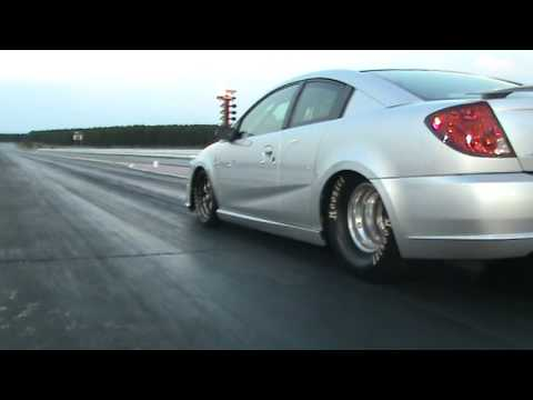 Turbo Saturn Ion Redline Ls Motor Drag Racing