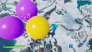 Fortnite Glitches | Balloons on Creative