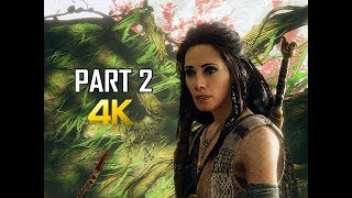 GOD OF WAR Gameplay Walkthrough Part 2 - Witch & Venusaur (PS4 PRO 4K Commentary 2018)