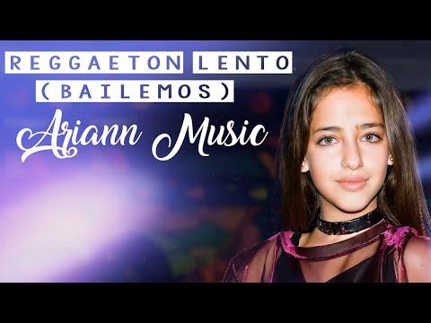 💫Reggaeton Lento💫 Bailemos  ARIANN  Versión CNCO clip oficial