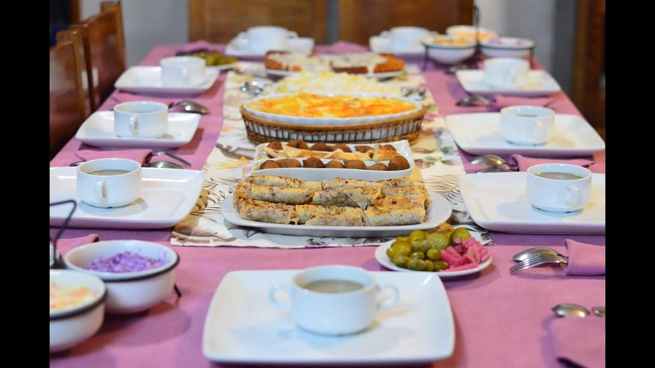 78a8d6cfc اقتراح سفرة 10 لعزومة فخمة أو سفرة رمضانية ميزة - YouTube