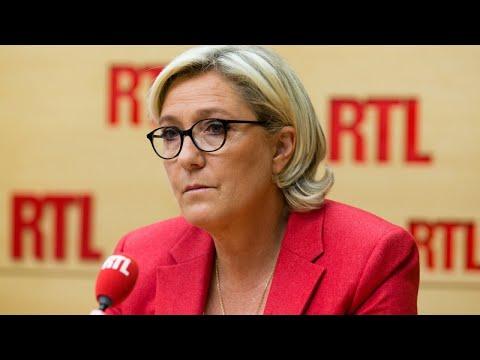 Marine Le Pen était l'invitée de RTL le 19 septembre 2017
