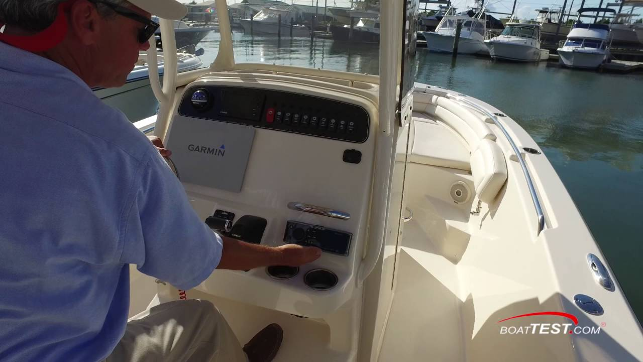 Grady-White Fisherman 236 (2016-) Test Video - By BoatTEST com