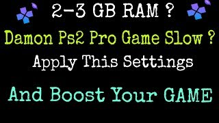 Damon Ps2 Pro Best Settings   Damon Ps2 Pro   How To Play Fast Games On Damon Ps2 Pro  