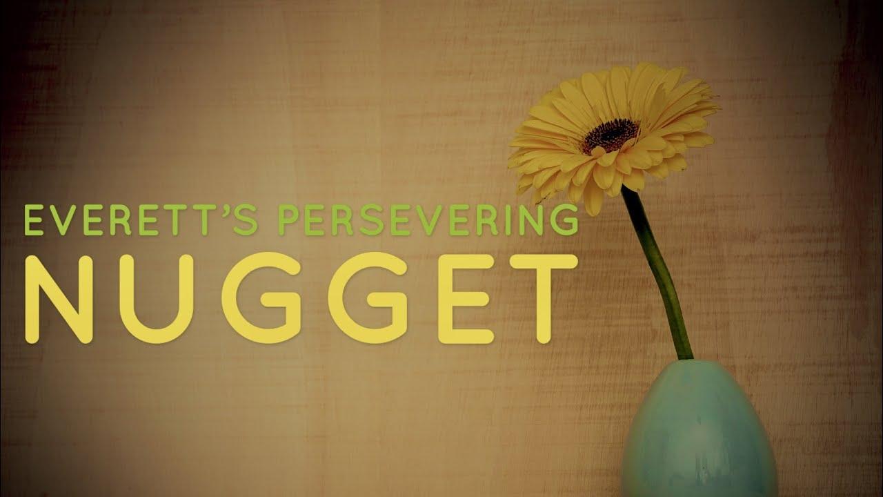 Persevering Nugget (Mental Motivation)