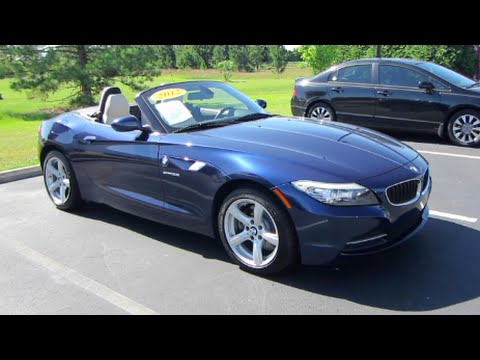2012 Bmw Z4 Sdrive28i Full Tour Amp Start Up At Massey