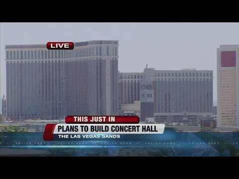 Las Vegas Sands planning 17,500-seat concert venue