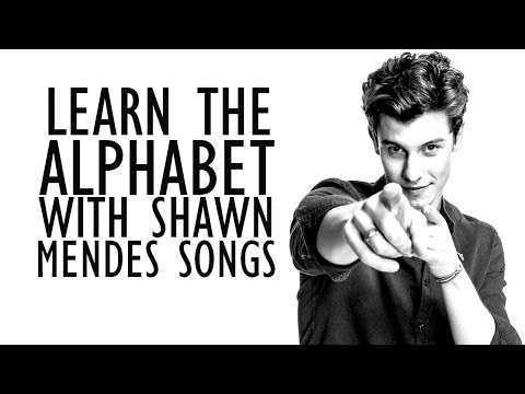 Learn The Alphabet With Shawn Mendes Songs!