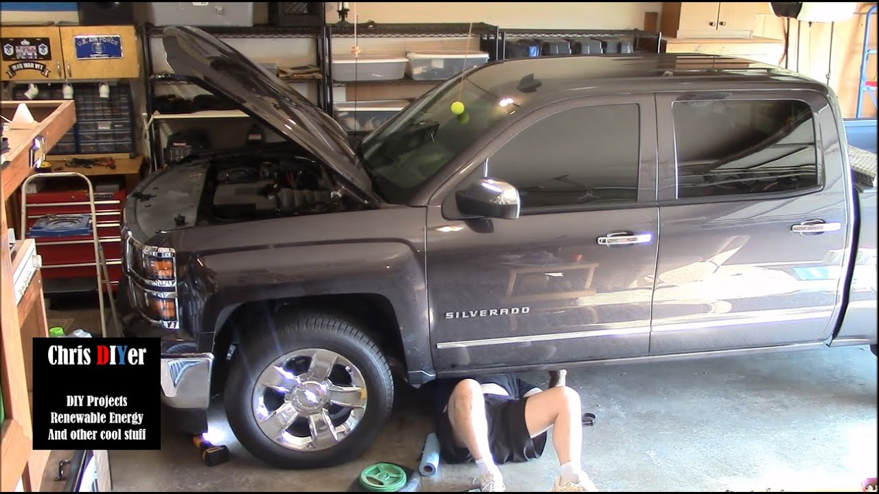 2014 chevy silverado oil specs