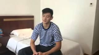 20141015 宁泽涛 Ning Zetao 닝제타오 Interview: about life