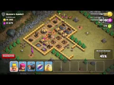 COC Clash Of Clans - Queen's Gambit