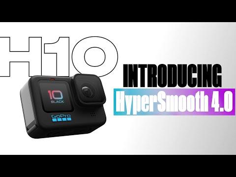 GoPro: HERO10 Black   HyperSmooth 4.0