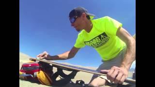 Sand Boarding the Great Sand Dunes  Mosca, CO / Alamosa Colorado  Chad and Tara Kiehn June 2013