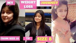 My Weight Loss Journey From Size 18 To Size 8 - In Urdu