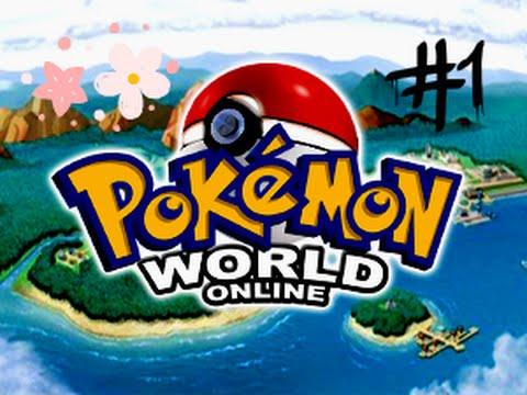 Прохождение Pokemon World Online Часть 1 (Добро пожаловать в Канто или Чармандер я выбираю тебя)
