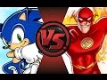 SONIC vs THE FLASH! Cartoon Fight Club Episode 59