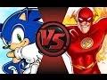 SONIC vs THE FLASH! Cartoon Fight Club Episode 59