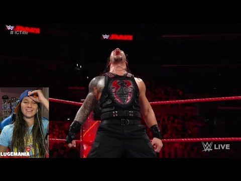 WWE Raw 12/4/17 Roman Reigns vs Jason Jordan thumbnail