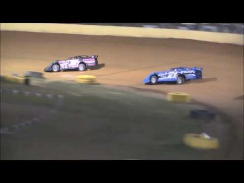 Pro Late Model Heat #3 from Ponderosa Speedway, September 30, 2016.