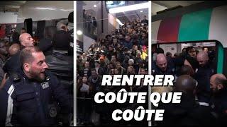 Les images oppressantes des tensions entre voyageurs et agent de sécurité gare du Nord