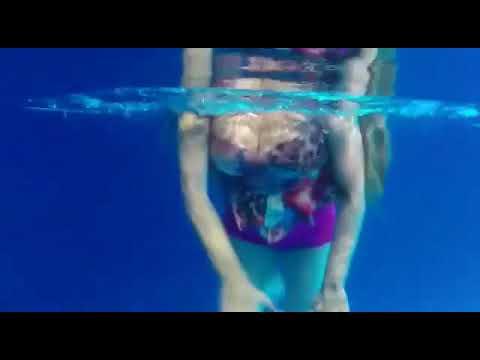 dewi persik berenang