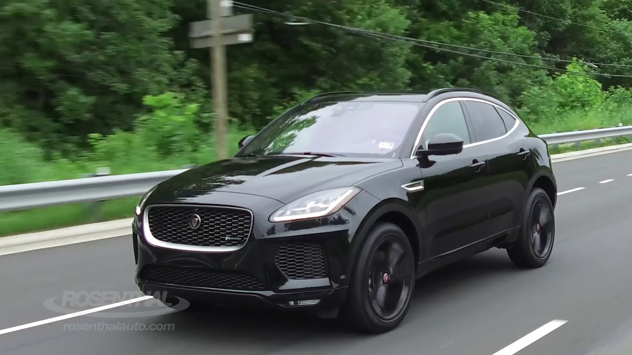 2018 jaguar e pace test drive review youtube. Black Bedroom Furniture Sets. Home Design Ideas