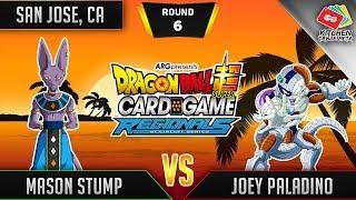 Dragon Ball Super Card Game Gameplay [DBS TCG] San Jose Regional Round 6
