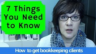 [BK Biz] 7 things you should know before starting a bookkeeping business