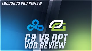 C9 vs OPT - Optic's insane early game - LCS Week 4 Locodoco [ VOD Review ]