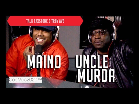 Uncle Murda & Maino talk Taxstone/TroyAve Irving Plaza Shooting