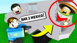 SNEAKING PAST THE ROBLOX BORDER PATROL...