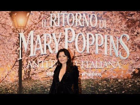 Il Ritorno di Mary Poppins: le interviste sul red carpet dell'anteprima italiana