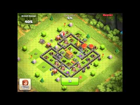 Clash of Clans - Getting Rick Rolled!!