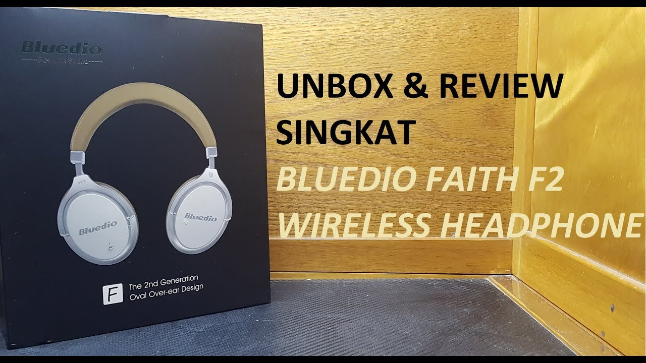 Indonesia Unbox Review Singkat Bluedio F2 Faith Wireless Bluetooth T2 Turbine White Putih Headphone
