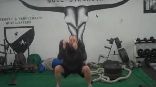 Squat Complex - Bulgarian Training Bag