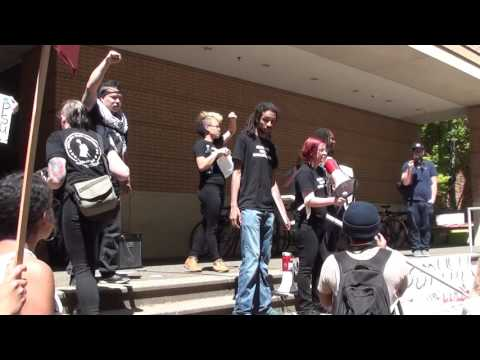 Part 1: RAW Footage, Disarm PSU Protest