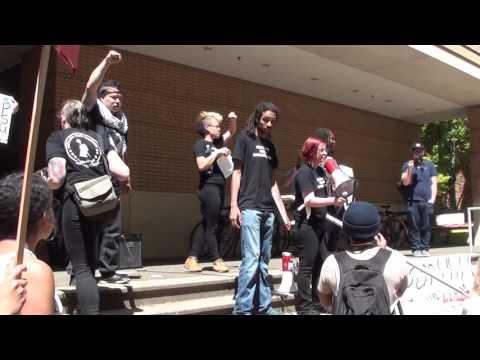 Part 1: RAW Footage, Disarm PSU Protest