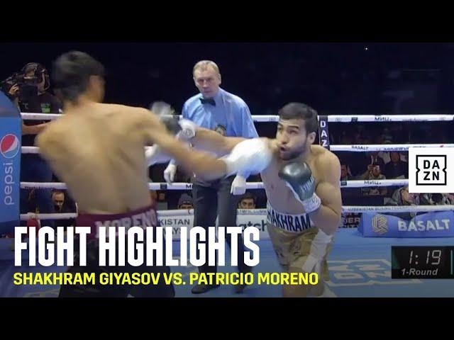 HIGHLIGHTS | Shakhram Giyasov vs. Patricio Moreno