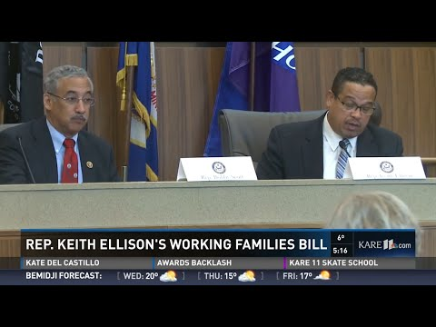 Rep. Keith Ellison Holds Working Families Forum with Ranking Member Bobby Scott