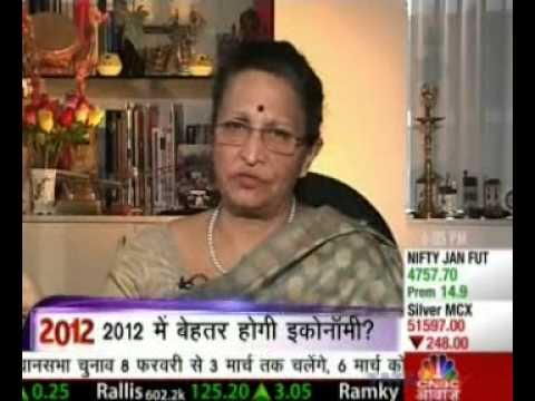 Renu Sud Karnad's interview with CNBC Awaaz - Jan 9, 2012