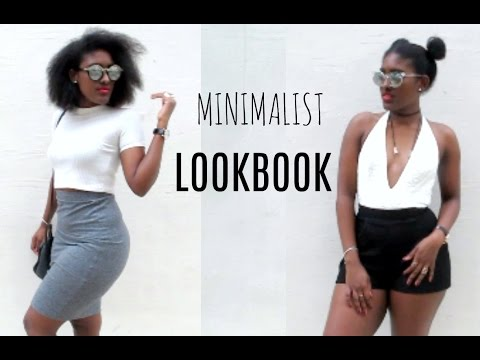 MINIMALIST LOOKBOOK