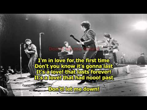 Don't Let Me Down - The Beatles (Karaoke) HD