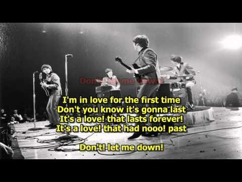 Don't Let Me Down - The Beatles (Karaoke) HD