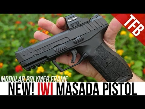 The NEW IWI Masada Pistol Review: An Israeli Glock 17, Or Something Else?