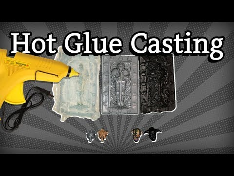 How To Cast Miniatures With Hot Glue (Cheap and Easy)