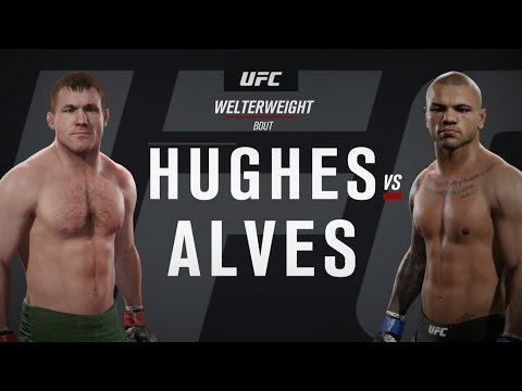 UFC ●  WELTERWEIGHT ●  MMA 2016 TOP FIGHTS ● MATT HUGHES VS THIAGO ALVES