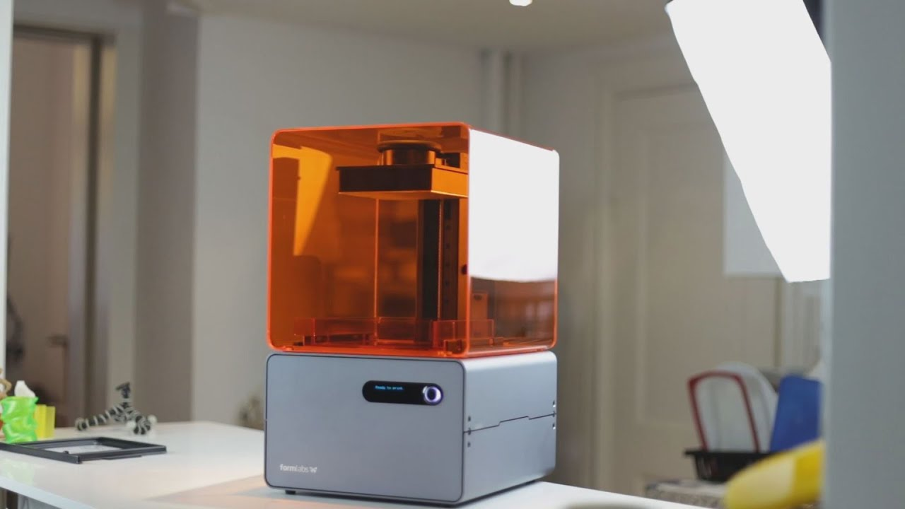 Review | Formlabs - Form 1+ - SLA - 3D-Printer - Part 1 - YouTube