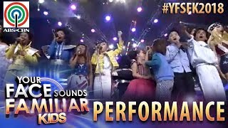 Your Face Sounds Familiar Kids 2018: YFSF All Stars | Feel This Moment