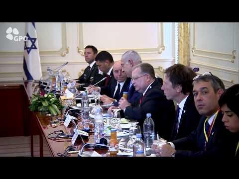 PM Netanyahu Meets President of Chad Idriss Deby