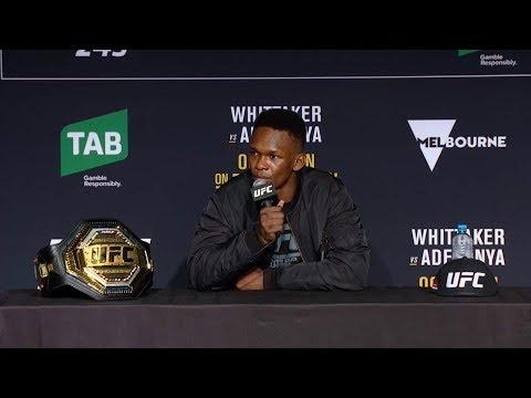 UFC 243: Главные моменты пресс-конференции